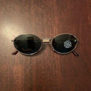 Vintage Vuarnet ref 051 pouilloux gold sunglasses